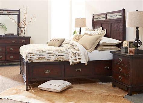 bedrooms arden ridge queen storage bed bedrooms