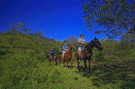 waterfall fortuna horseback riding tour
