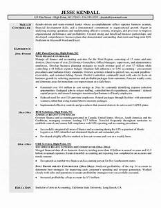 financial controller resume examples examples of resumes With controller resume template