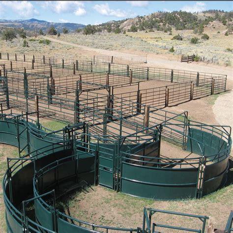 cattle handling livestock corral systems designs system barn ranch equipment hog corrals hi farm farming beef goat horse bulls herd