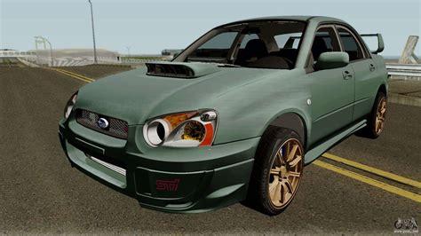 Subaru Impreza Wrx Sti 2004 Stock Ivf For Gta San Andreas