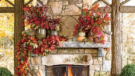 Fall Decorating : Fall Decorating Ideas -southern Living