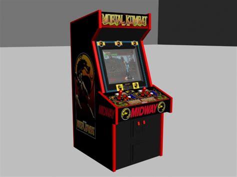 Mortal Kombat Arcade Machine by Mortal Kombat Portal 2 And Socom 4 Ls1tech Camaro