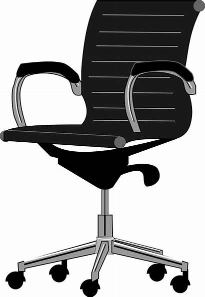 Chair Clipart Sit Transparent Office Animated Webstockreview