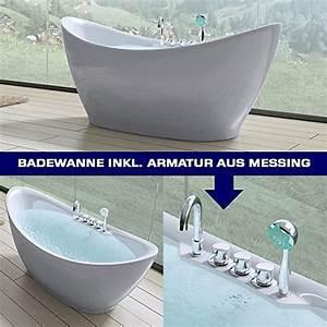 Freistehende Badewanne Mit Armatur : freistehende badewanne armatur was ~ Bigdaddyawards.com Haus und Dekorationen