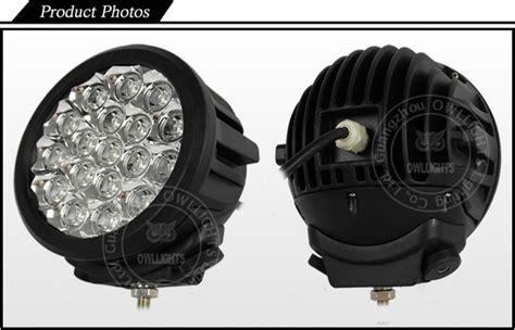 Spot Beam 90w 140w Led Work Light 12v 7inch 140w Round Led