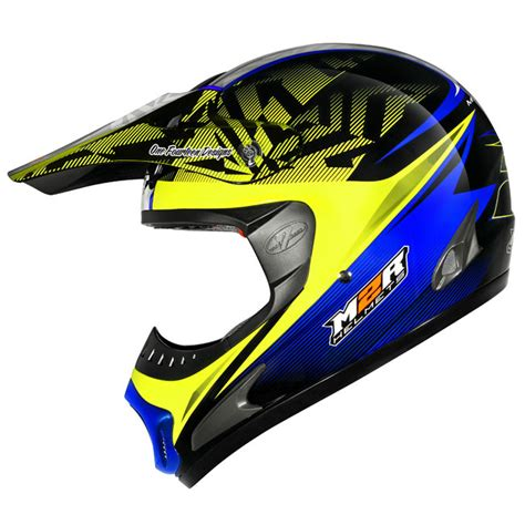 motocross helmets cheap m2r new mx gear x1 balance pc 3 yellow blue cheap