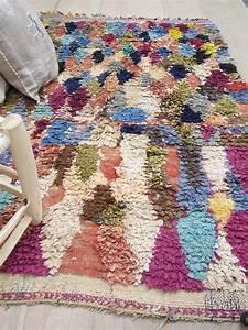 Tapis Boheme Chic : tapis boucherouite vieux rose les petits bohemes pinterest ~ Teatrodelosmanantiales.com Idées de Décoration