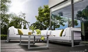 Salon Jardin Angle : canap d 39 angle de jardin haut de gamme 6 places toscane ~ Teatrodelosmanantiales.com Idées de Décoration