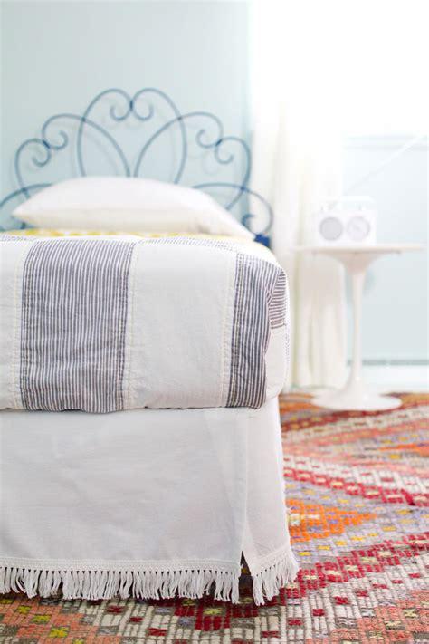 velcro diy bedskirt allfreesewingcom