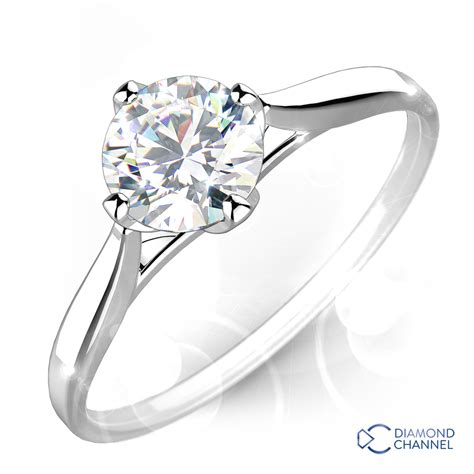 wedding ring sets johannesburg classic solitaire engagement ring 0 50ct tw the channel johannesburg