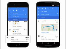 This is what Google Maps will look like with its Material