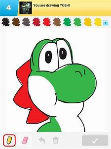 Yoshi Drawings - How to Draw Yoshi in Draw Something - The ...