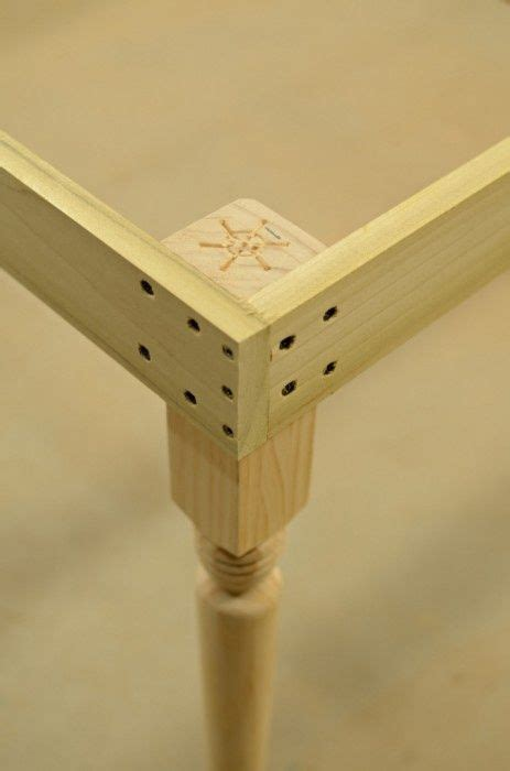 table corner joint diy furniture furniture projects