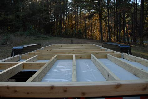 how to build a floor for a house framing the floor the tiny life
