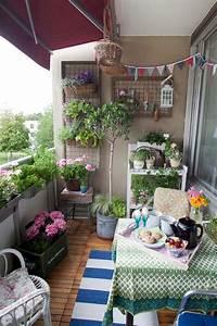 Cozy, Small, Apartment, Balcony, Decorating, Ideas