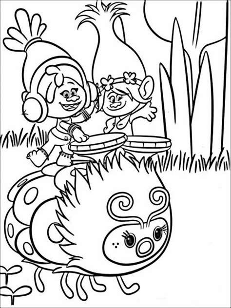 Gratis Kleurplaten Trolls by Trolls Kleurplaat Printen 7