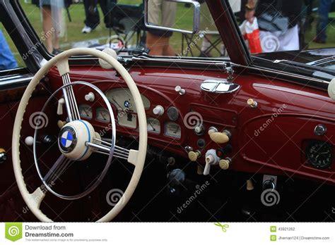 bmw supercar interior vintage bmw sports car interior editorial photography