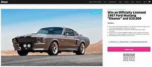 Mustang-Ford-Eleanor-1967-Omaze-2020-loterie | Les Voitures