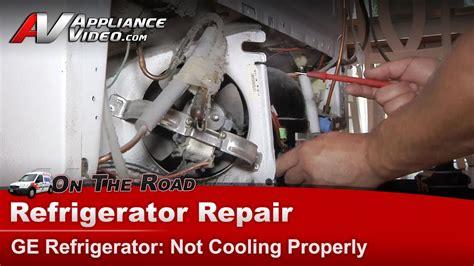 refrigerator repair diagnostic  cooling ge general electric rca hotpoint