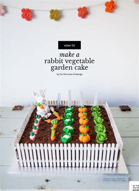 Garden Decoration For Cake by 25 Best Ideas About Garden Cakes On Vegetable