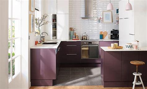 modele de cuisine castorama une cuisine ouverte en u