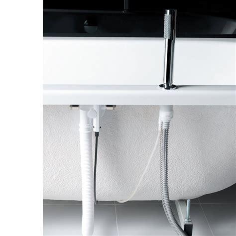 crosswater follow  bath mounted shower handset