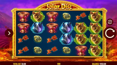 solar disc slot  igt play  game demo