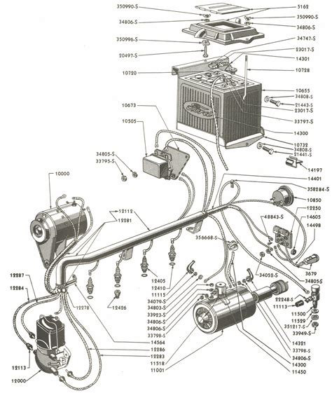 1954 Ford 8n Wiring Diagram by Ford Parts Wiring Wiring Library