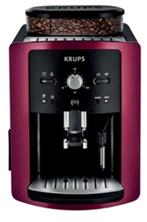 la cuisine à toute vapeur expresso avec broyeur krups ea800r10 auto compact