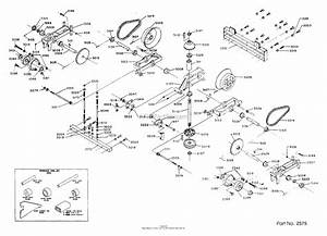 Dixon Ztr 308  1986  Parts Diagram For Transaxle Assembly