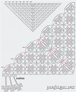 Crochet Shawl   Diagram