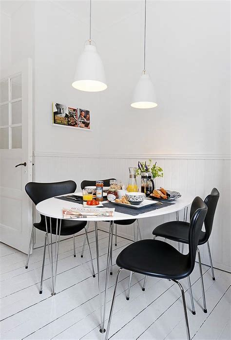 kitchen with dining table designs 25 small dining table designs for small spaces 8748