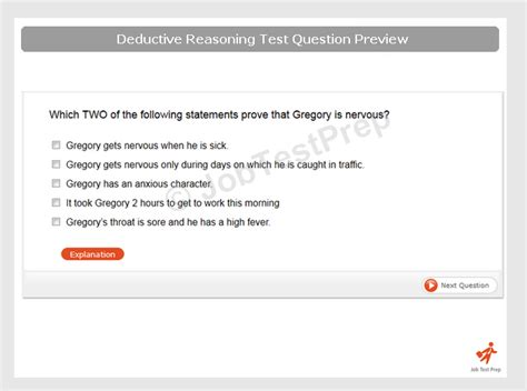 Deductive Reasoning Practice Tests - JobTestPrep