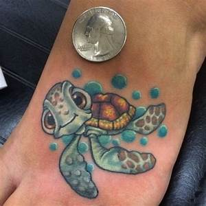 22 Adorable Colorful And Black Ink Disney Tattoos ...