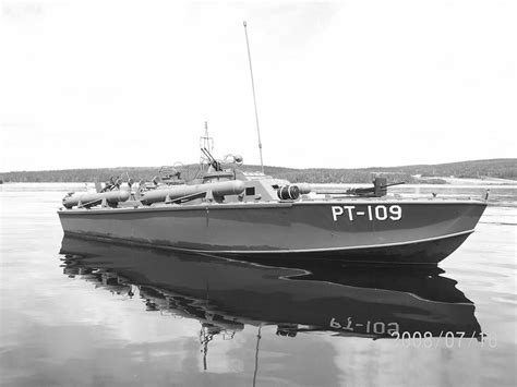 F Boat by Pt 109 The Boat Captained By Jfk Wwii
