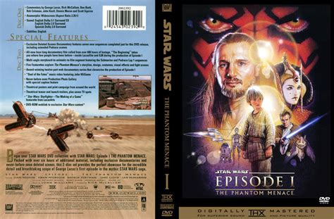 star wars  phantom menace  dvd custom covers