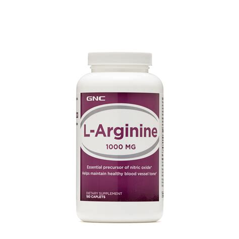 Amazon.com: GNC L-Arginine and L-Citrulline, 120 Caplets
