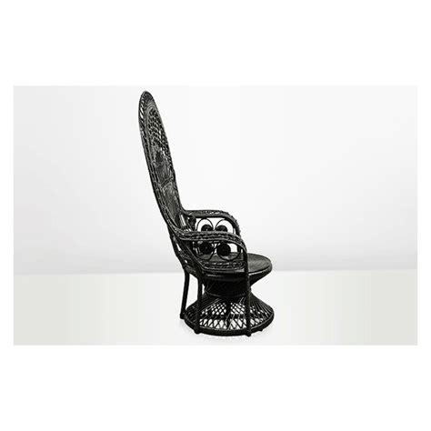 chaise emmanuelle black emmanuelle rattan chair black rattan chair vintage