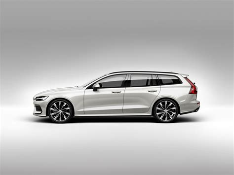 2019 Volvo V60 Officially Unveiled Sexy Wagon Gets Two