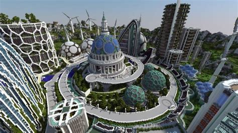 climate hope city minecraft building