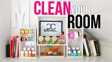 Clean Your Room  7 New Diy Organizations + Tips & Hacks