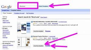 google docs brochure template lisamaurodesign With google docs brochure layout