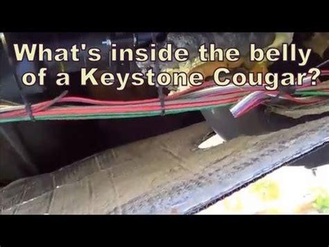 Inside The Belly Pan Keystone Cougar Fifthwheel Trailer