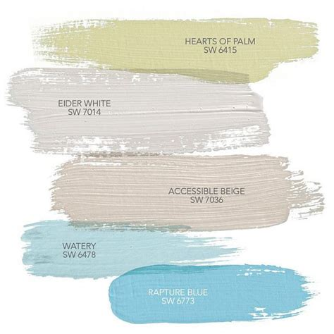 coastal paint colors hearts of palm sw 6415 sherwin