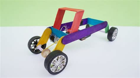 How To Make Electric Car by How To Make Rc Car Tractor Diy Electric Car Easy