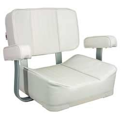 1sale springfield deluxe captain s seat white