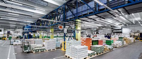 cuisine industrie lighting systems for the food industry trilux