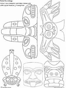 how to draw a totem pole artsmudge With totem pole design template