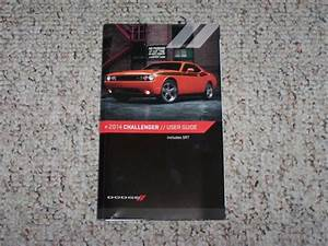 2014 Dodge Challenger Coupe Owner Owner U0026 39 S Manual User